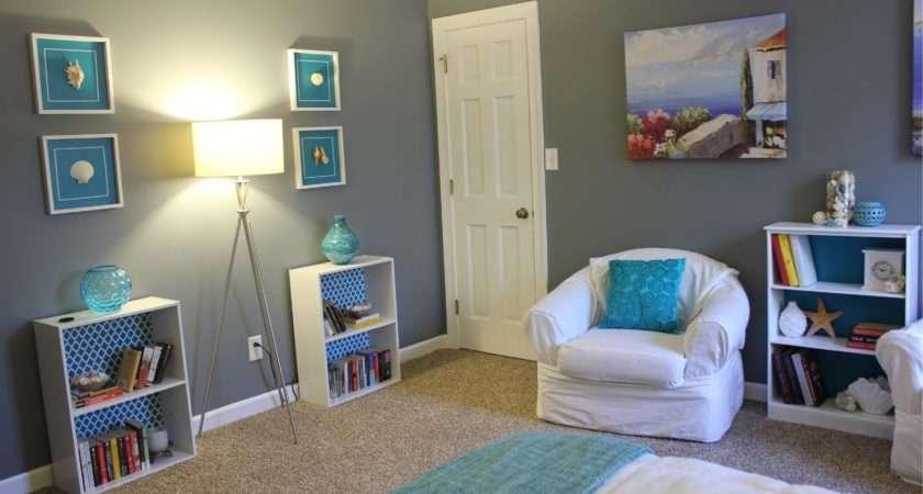 Teal Gray Bedroom Ideas