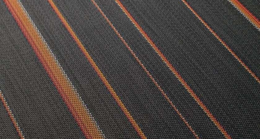 Tec Woven Vinyl Flooring Rebel Orange Rolls