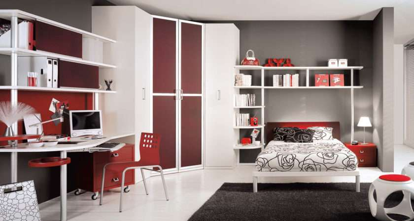 Teen Bedroom Designs Tumidei Interior Design