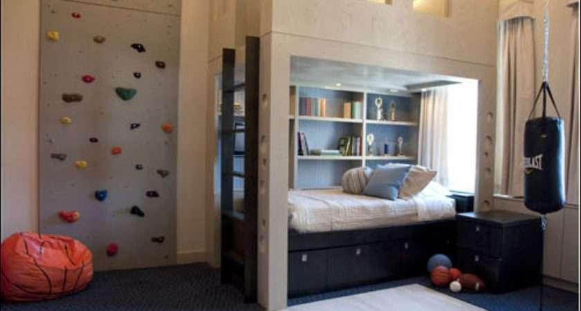 Teen Boys Sports Theme Bedrooms Room Design Ideas