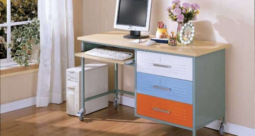 Teen Desk Discontinued Pastel Color Scheme Shown Here