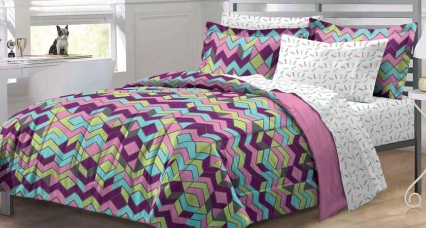 Teen Girl Bedding Sets Purple Fbzcsts