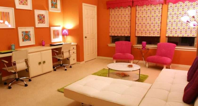 Teen Girl Bonus Room Built Desk Hgtv