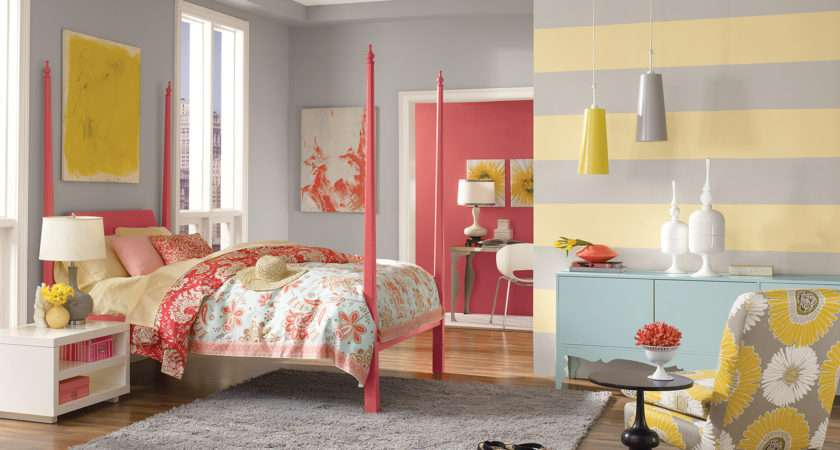 Teen Room Paint Color Ideas Inspiration
