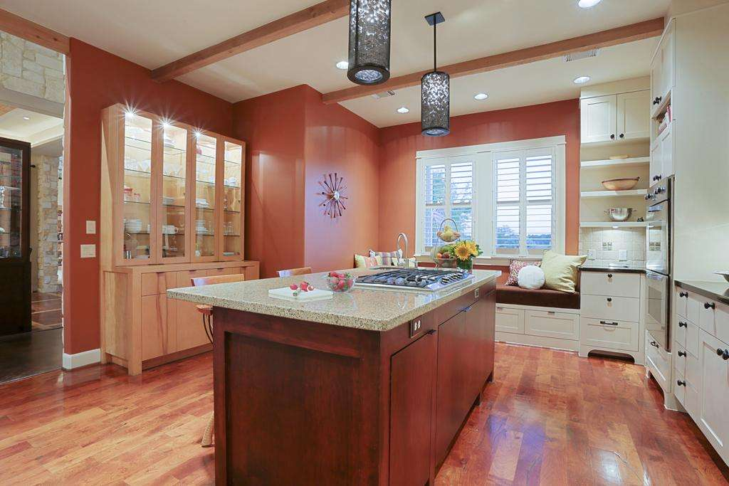Terra Cotta Colored Walls Provide Contrast Painted ...