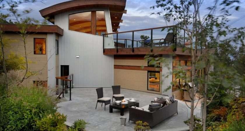 Terrace Outdoor Furniture Modern Home Victoria British Columbia