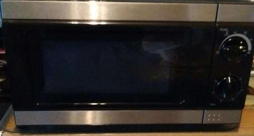 Tesco Black Microwave Oven Sandown Wightbay