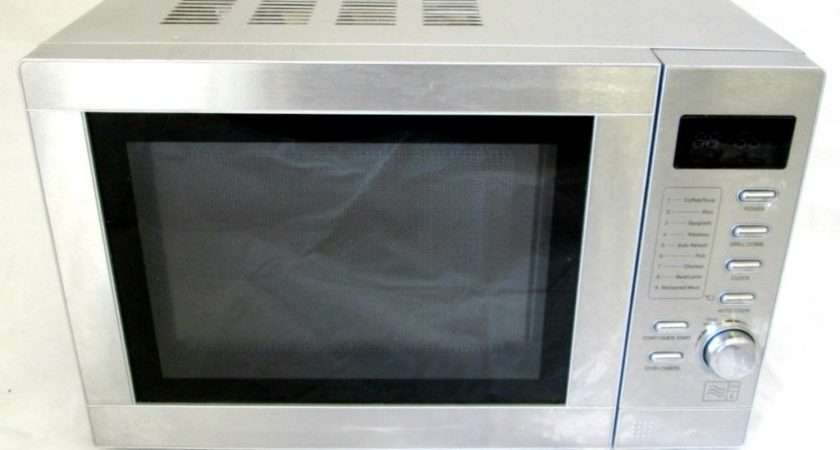 Tesco Mtg Silver Litre Combination Microwave Oven Grill