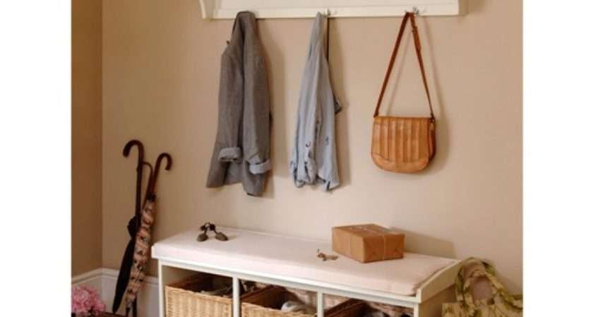 Tetbury Ivory Hall Bench Shelf Unit Set