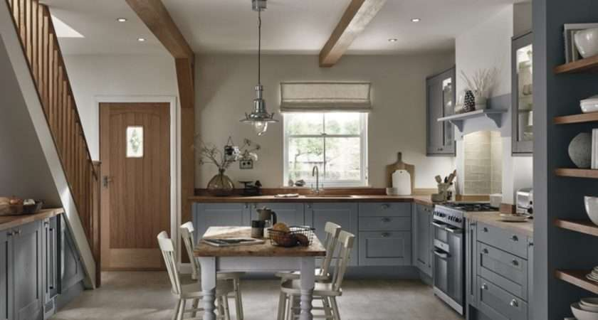 Tewkesbury Slate Grey Shaker Kitchens Howdens Joinery