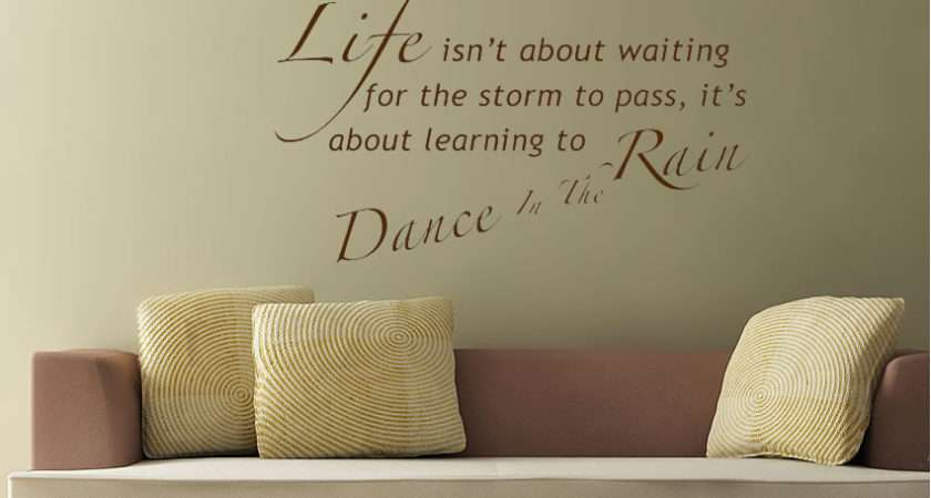 Text Quotes Wall Stickers Wallartdirect