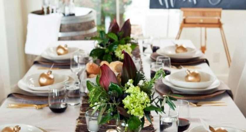 Thanksgiving Table Setting Ideas Recipes Hgtv
