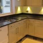 Their Large Kitchen Worktops Were Edge Profiled Had Recessed