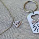 There Girl Daddy Daughter Keychain Melissasmonograms