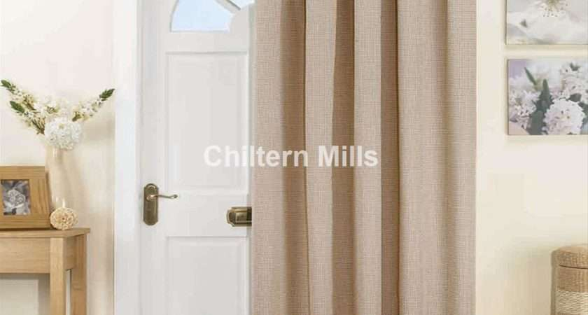 Thermal Door Curtains Natural Chiltern Mills