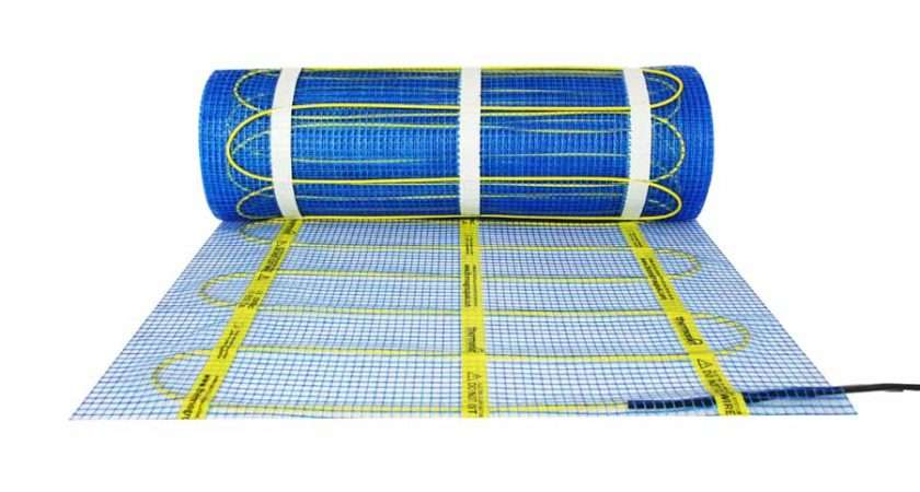 Thermomat Underfloor Heating Mat Has Elements Preinstalled