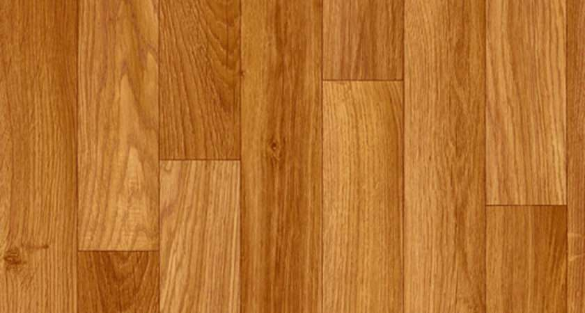 Thick Vinyl Flooring Realistic Wood Warm Beige