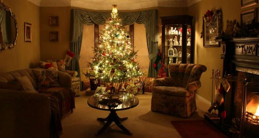 Think Living Room Oozes Christmas Say Myself Imgur