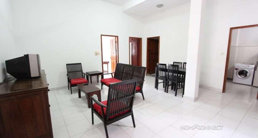 Tidy Bedroom Apartment Near Riverside Phnom Penh Apartments