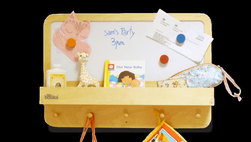 Tidy Books Magnetic Children Notice Board Award Winning Range