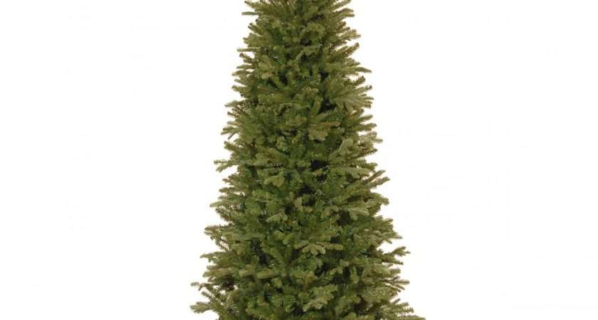 Tiffany Fir Slim Feel Real Artificial Christmas Tree
