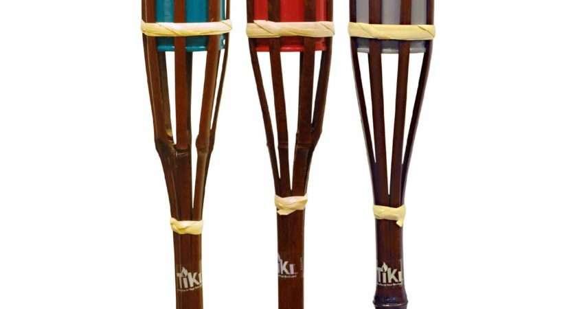 Tiki Bamboo Garden Torch