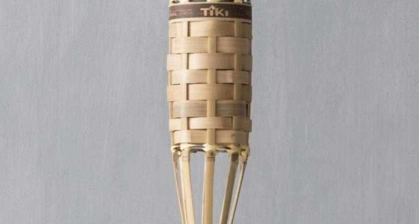 Tiki Torches Metal Bamboo Glass More Brand