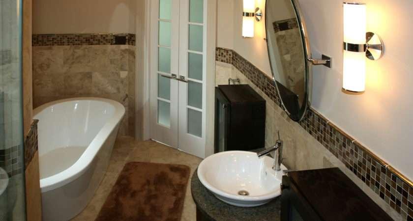 Tile Bathroom Louis Bath Remodel Travertine