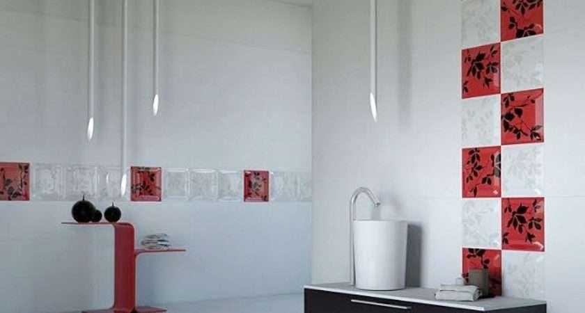 Tile Bathroom Wall Ideas Grasscloth