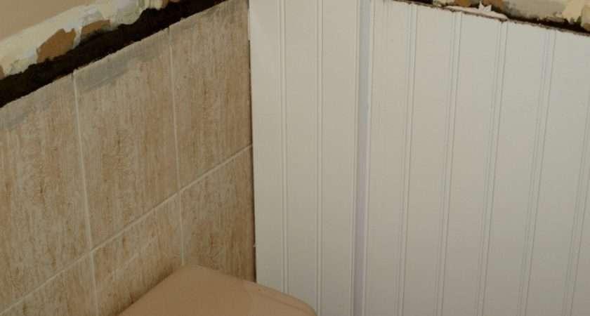Tile Beadboard Over Bathrooms Pinterest Wall Tiles