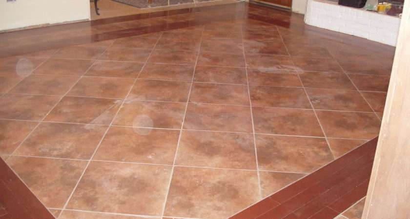 Tile Flooring Wood Traditional Look