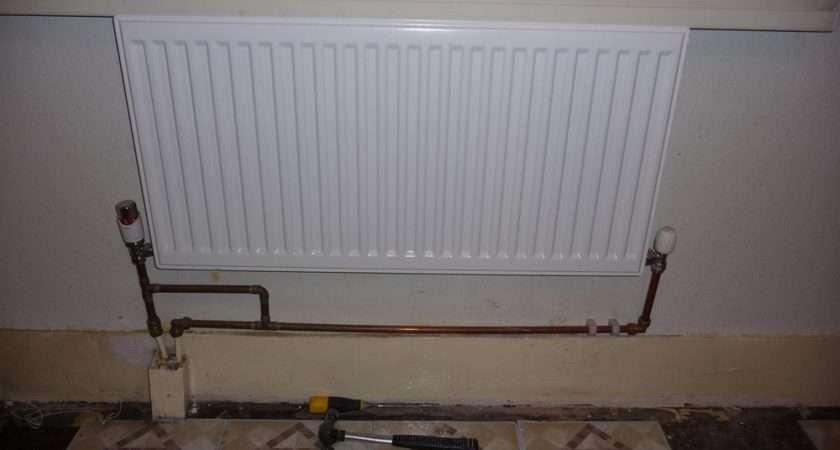 Tile Small Bathroom Wall Remove Radiators Tiling Job Euston