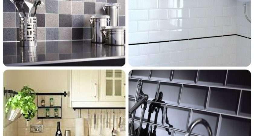 Tile Stickers Kitchen Interior Design Contemporary