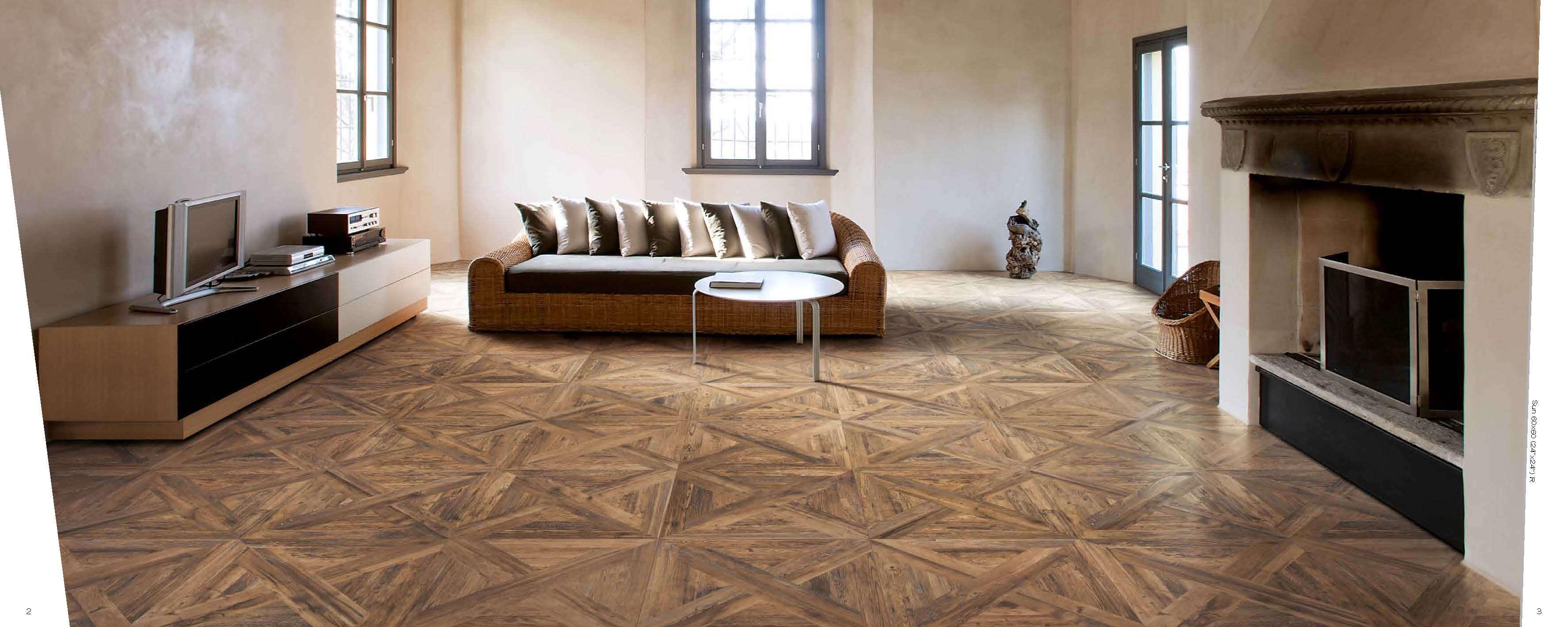 Tile Wood Floors Mix Flooring Floor Layout