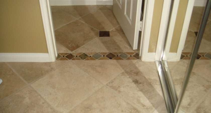 Tiles Wood Grain Ceramic Tile Blue Floor Grout
