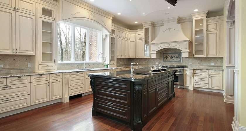 Timeless Kitchen Idea Antique White Cabinets