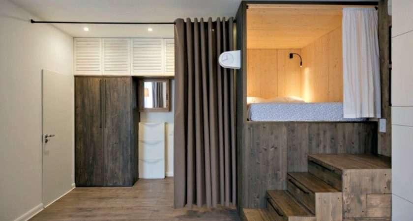 Tiny Apartment Modern Clever Space Saving Interior Tricks