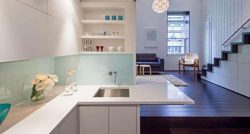 Tiny Micro Loft Apartment Manhattan Idesignarch Interior Design