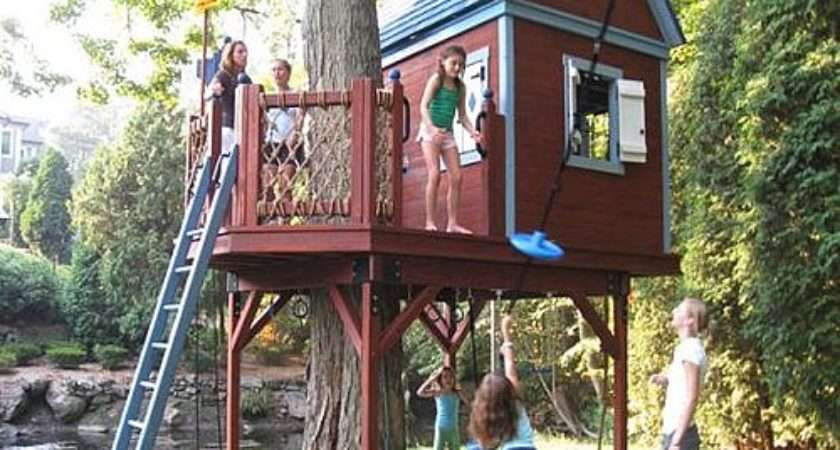Tips Build Coolest Tree Houses Your Kids Interior