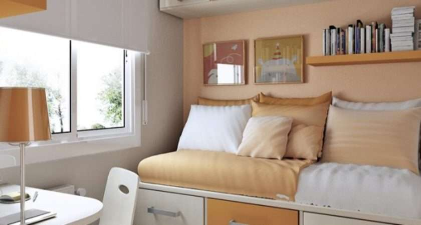 Tips Small Bedroom Interior Design Clean Cozy Atmosphere White