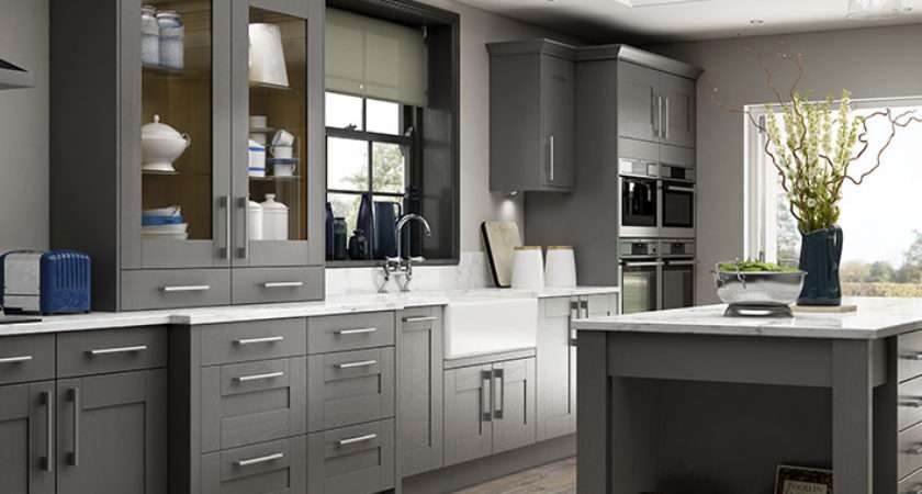 Tiverton Slate Kitchen Wickes