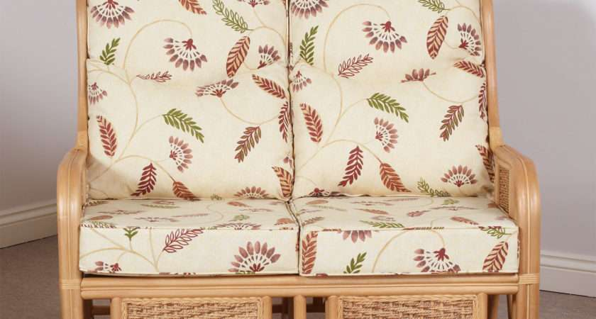 Tobago Conservatory Cane Furniture Two Seater Sofa