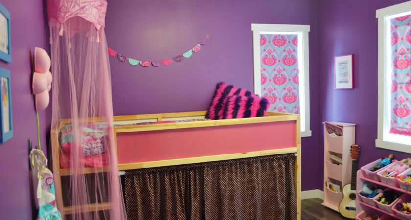 Toned Room Purple Hot Pink Turquoise Diy Mommy