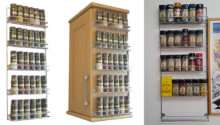 Top Best Spice Racks Reviewed Wall Mount Wooden