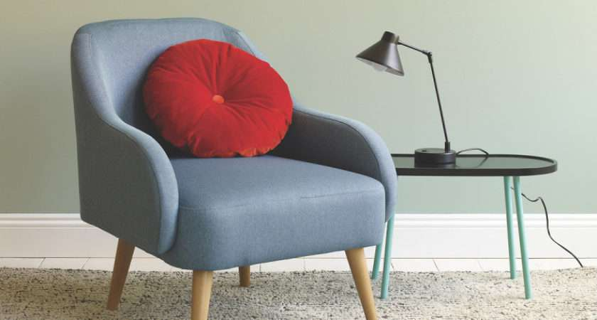 Top Compact Armchairs Small Spaces Colourful
