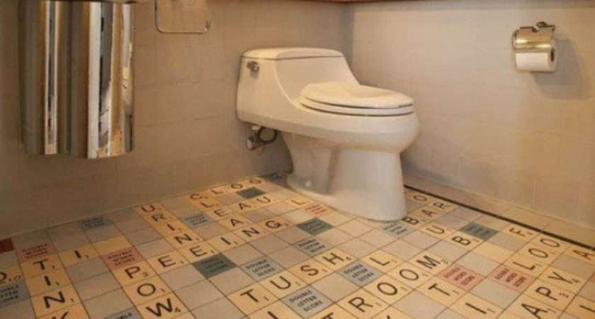 Top Creative Unusual Bathroom Floors