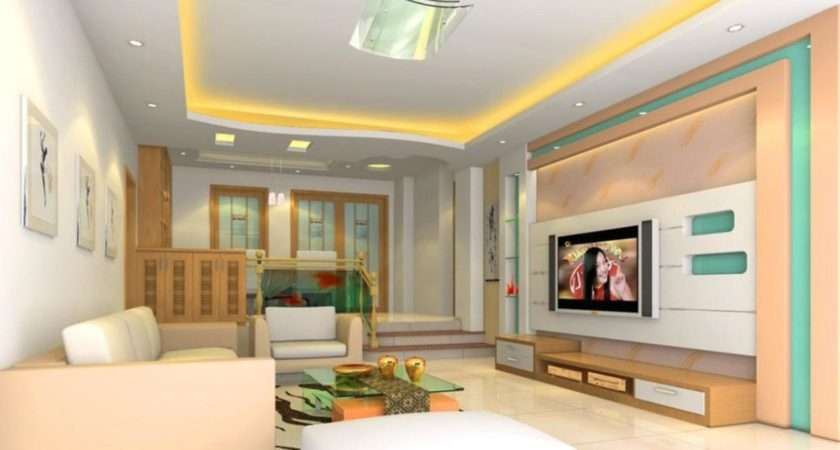 Top Living Room Lcd Wall Unit Design Ideas