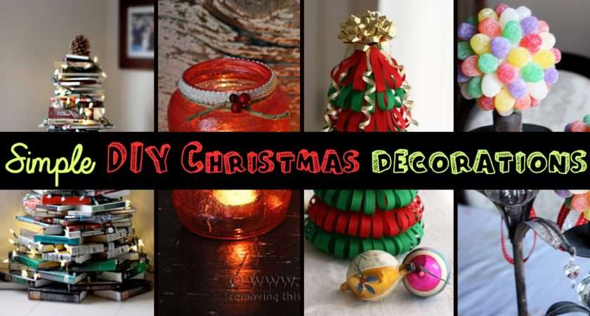 Top Simple Affordable Diy Christmas Decorations Cute