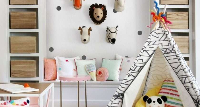 Totally Fresh Decorating Ideas Kids Playroom