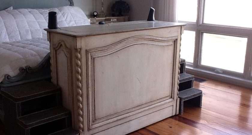 Traditional End Bed Furniture Hidden Inside